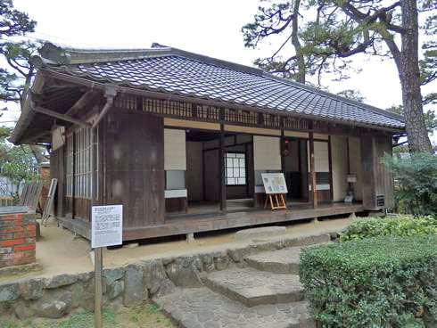 入船山記念館 旧東郷家住宅離れ02
