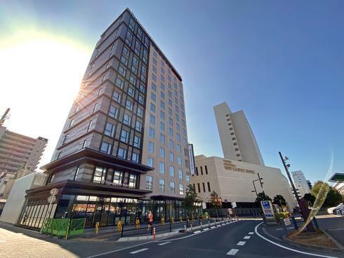 ダイワロイネットホテル福山駅前、トモテツビル跡地に2月プレオープン