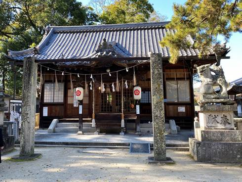 素盞嗚神社(天王神社)拝殿