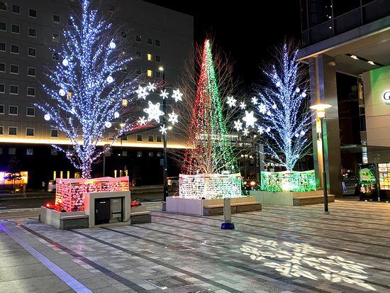 エキキターレのクリスマス装飾