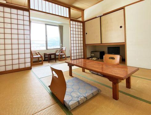 ひば・道後山高原荘 部屋タイプ、和室