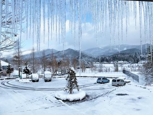 ひば・道後山高原荘 の部屋からの景色