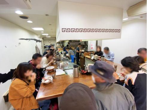 尾道ラーメン 一丁 店内の様子
