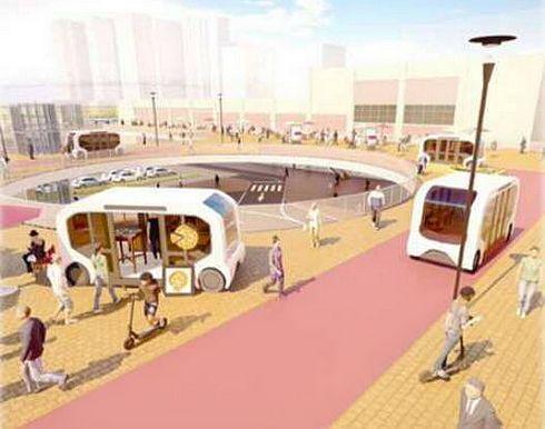 呉駅の交通ターミナル整備、次世代モビリティと連携し回遊性の向上も
