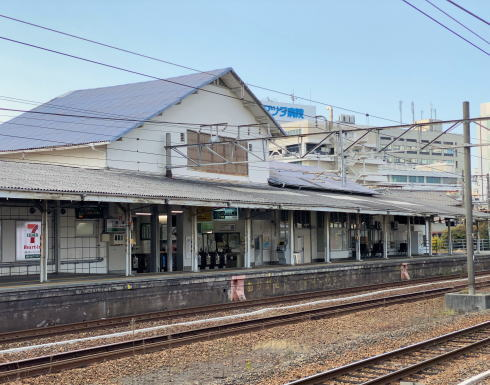 向洋駅 ホームからの風景