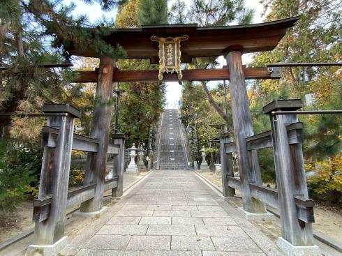 広島市 邇保姫神社 外観2
