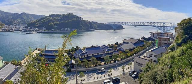 蘭島閣美術館 別館からの眺め