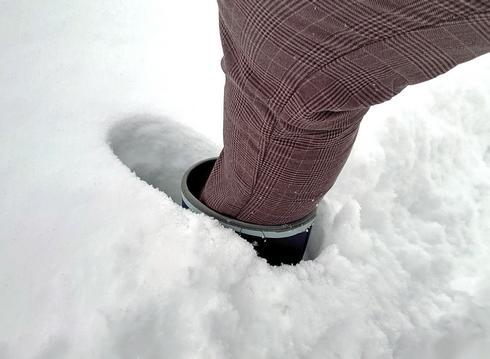 雪深い広島県庄原市の冬