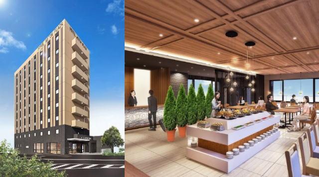 ホテルアストンプラザ広島海田市駅前 オープン、中国地方初出店