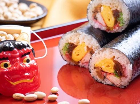 恵方巻の始まりは広島だった、節分の太巻き寿司全国展開