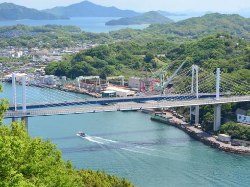 尾道大橋 開通から約50年、2021年2月に夜間全面通行止め