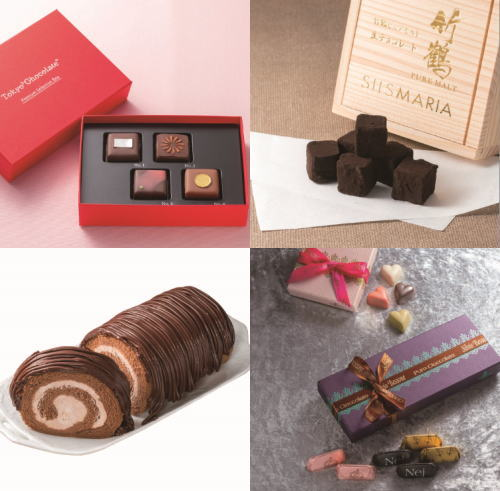 そごう広島店でチョコレートパラダイス、日本発の魅惑チョコレート