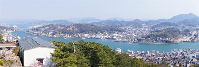 千光寺公園 展望台からの風景