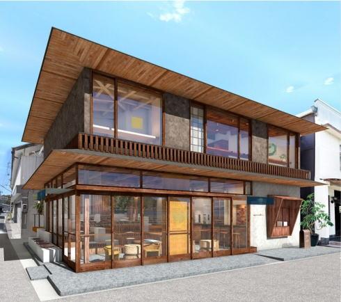 ソイル瀬戸田、レトロな雰囲気の複合施設が尾道・瀬戸田港そばに!マルシェ開催も
