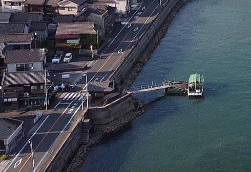 音戸渡船の桟橋(音戸側)