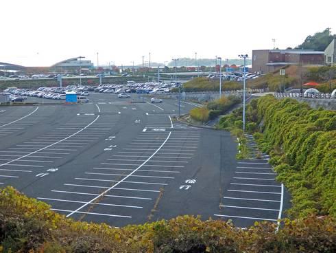 八天堂ビレッジ 駐車場