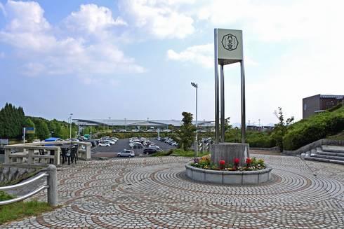 八天堂ビレッジ プロムナード(遊歩道)