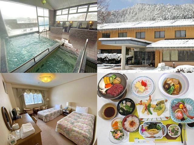 冬ならではの心地よさ!静寂の雪見風呂と名物グルメで、しっぽり温泉時間を楽しむ