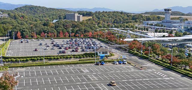 広島空港 県営駐車場
