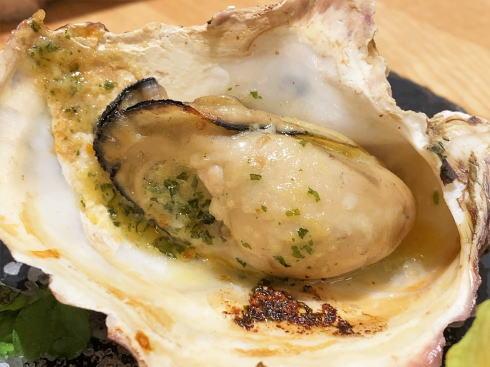 広島駅ekie内 瀬戸内イタリアン Massa(マッサ)焼き牡蠣2