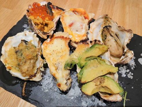 広島駅ekie内 瀬戸内イタリアン Massa(マッサ)焼き牡蠣