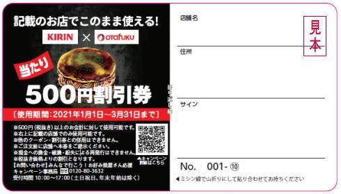 お好み焼屋さん応援キャンペーン(オタフク×キリン)画像3