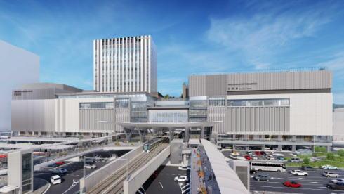 広島新駅ビル 外観イメージ
