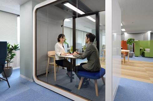 セカンドベース 広島・白島に誕生、テレワークなどに使用できるプライベート空間