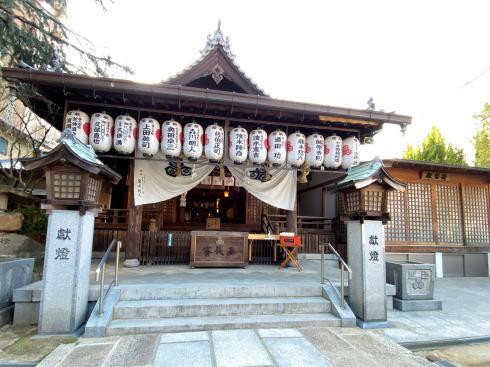 広島市中区 空鞘稲生神社 本殿