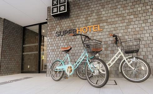 スーパーホテル広島天然温泉・薬研堀通り 外観