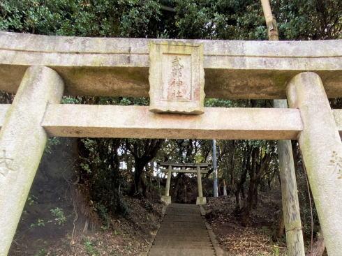 建部神社 / 広島県福山市