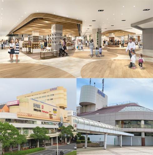 アルパーク 全面改装オープン!東棟に約40店舗新規開業・総数160店舗へ
