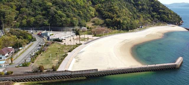 狩留賀海浜公園(ロマンチックビーチかるが)アスレチック&バーベキュー等、夏あそびスポット!