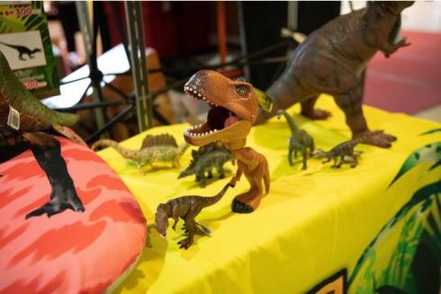 恐竜パーク オリジナルグッズコーナー
