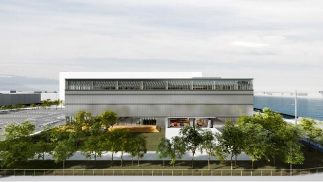 モルテン「ザ・ボックス」開発拠点を広島西飛行場跡地に建設!体感施設ほかギャラリー・居酒屋も