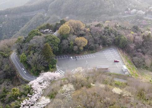 竜王山駐車場 広島県三原市