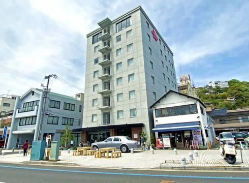 尾道の海岸通りに新ホテル、さくらホテル尾道駅前 オープン