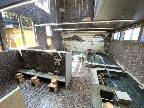 銭湯 ユブネ、瀬戸田の旅館「アズミ」の別棟は日帰り入浴もOK!