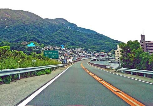 広島呉道路の風景