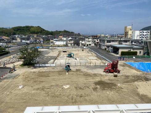 廿日市市大野支所に「まちの駅」 工事中の様子 画像2