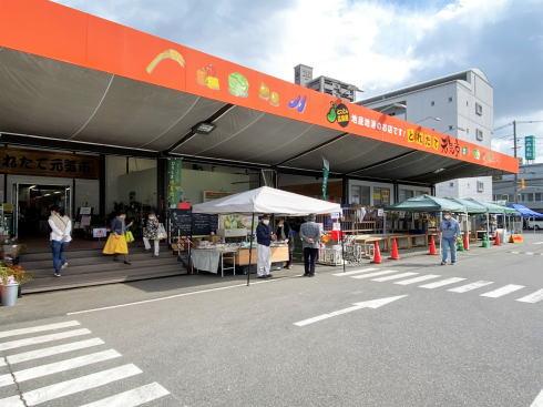 とれたて元気市広島店が建替え、カフェ・総菜追加でリニューアル
