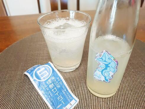 怪獣サイダー、尾道老舗レモン農家と飲料メーカー作の後味スッキリサイダー