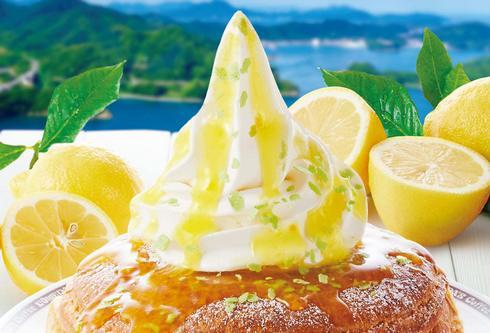 シロノワール 瀬戸内レモン、季節限定でコメダに登場