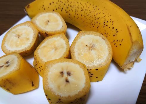 皮ごと食べられる広島産「ヒロシマPEACEバナナ」