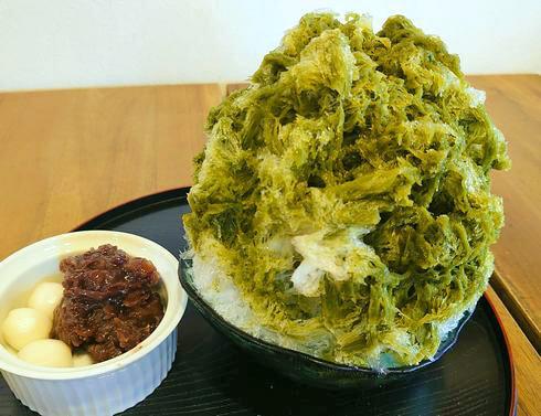 ふわふわかき氷「こおりやtete」福山市松永のカフェでヒンヤリ癒し時間
