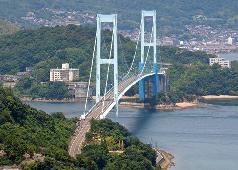 安芸灘大橋 とびしま海道 最初の橋