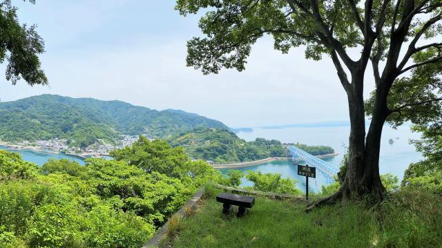 下蒲刈島「潮流みはらし台」は、登山・サイクリスト・ライダーの隠れスポット