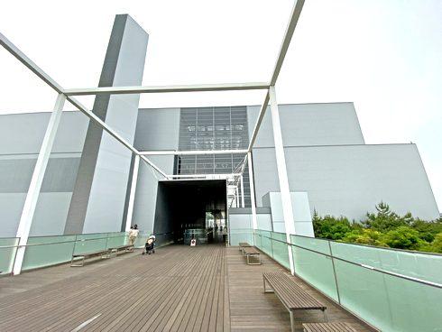中工場、広島市中区にアートなゴミ処理場
