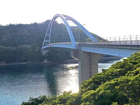 岡村大橋(愛媛県)とびしま海道 最後の橋