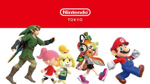 Nintendo TOKYOポップアップストア ビジュアル